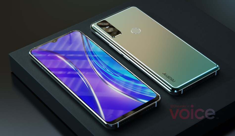 Mysterious Realme smartphone appears in 3D renders with triple cameras