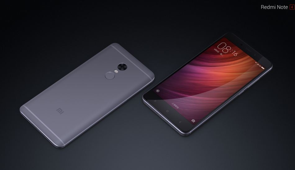 Xiaomi Redmi Note 4 launched in India starting at Rs 9,999