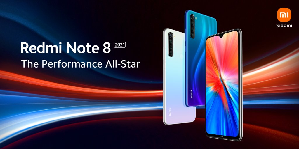 Redmi Note 8 2021 design and key specs revealed