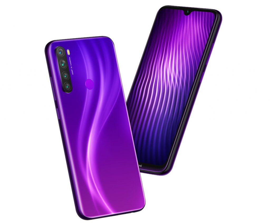 Redmi Note 8 Nebula Purple colour variant launched