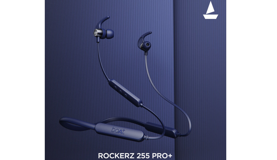 boAt Rockerz 255 Pro+ wireless neckband earphones launched with 40 hours battery life