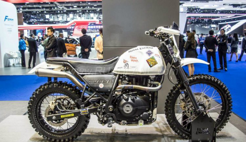 Everything you want to know about Custom Royal Enfield Himalayan
