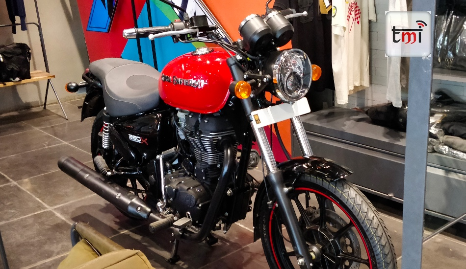 Royal Enfield Thunderbird X Series in Pictures
