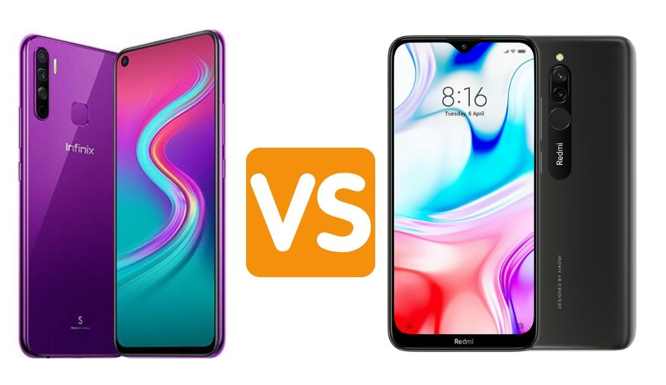 Infinix S5 Lite Vs Redmi 8: Which is better?