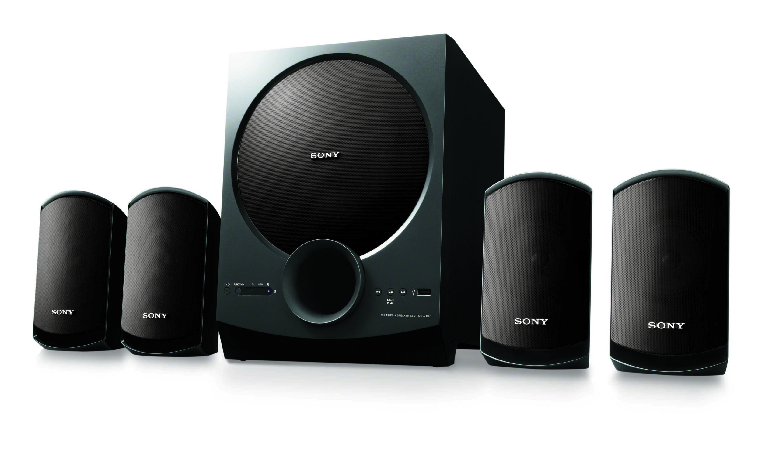 Sony SA-D40 and SA-D20  audio systems launched in India starting from Rs 6,990