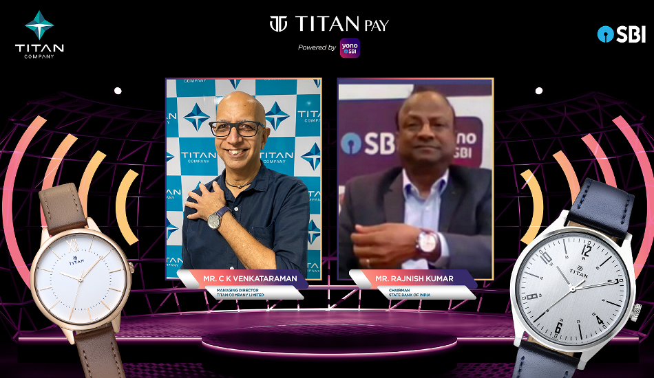 Titan partners with SBI to launch contactless payment watches