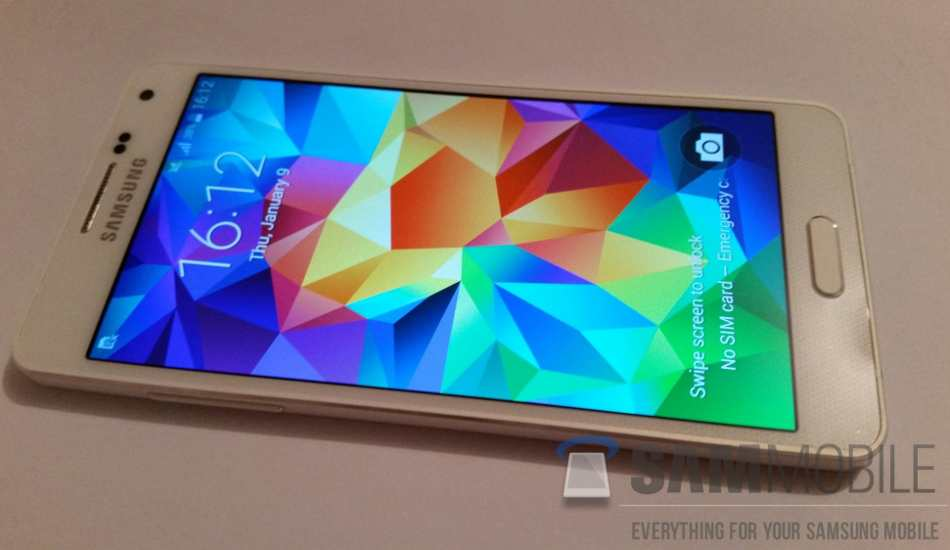 Metal body clad Samsung Galaxy A5 spotted online