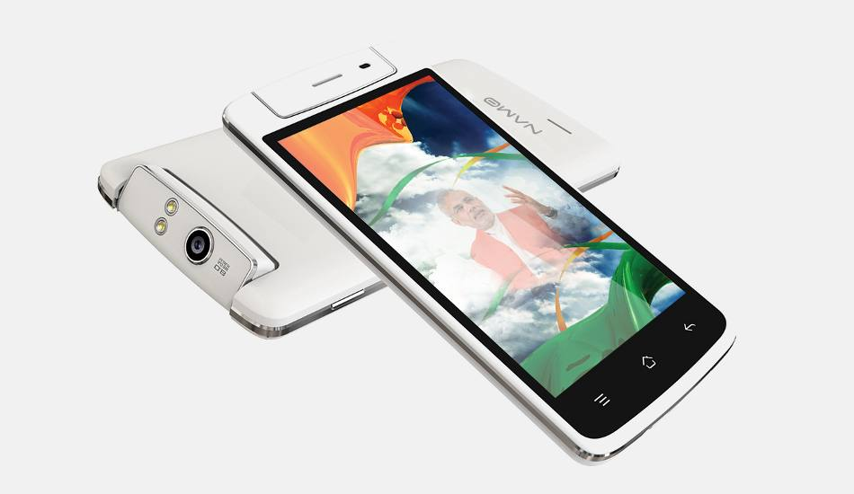 Oppo N1 Effect: Smart Namo announces Saffron Wave smartphone with rotating camera