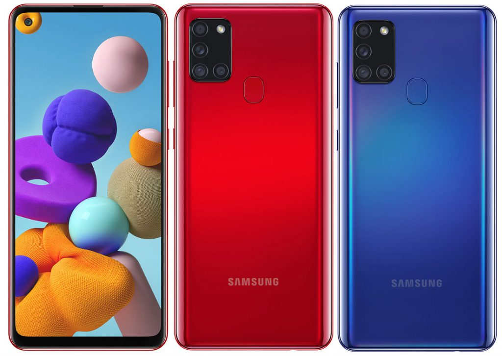 Samsung Galaxy A21s goes official with 48MP quad rear cameras, 5000mAh battery