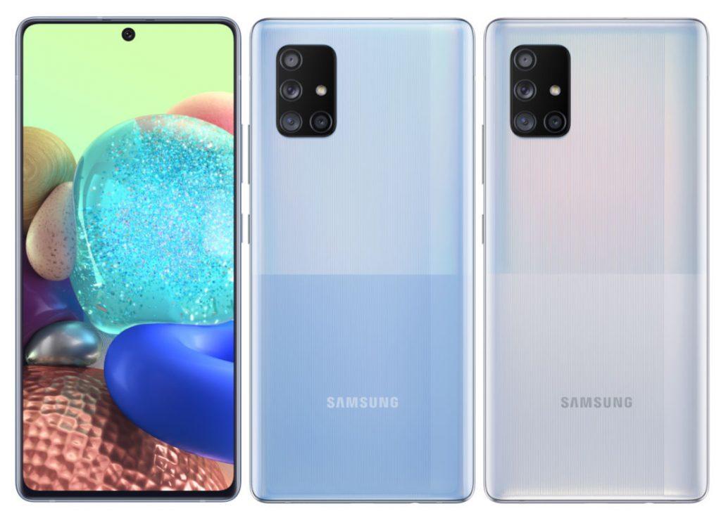 Samsung Galaxy A51 5G and Galaxy A71 5G announced with quad rear cameras, 4500mAh battery