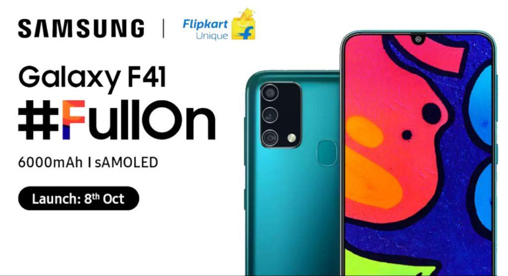 Samsung Galaxy F41 launching in India today: How to watch Live Stream, Expected Price, Specifications