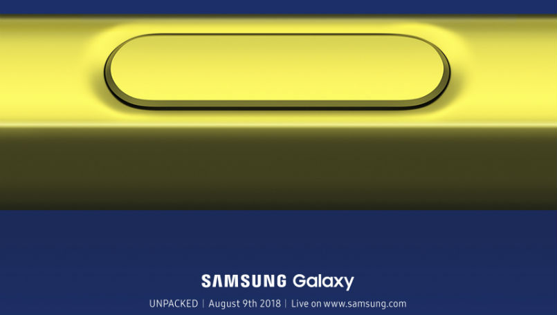 Samsung Galaxy Note 9 in Pictures