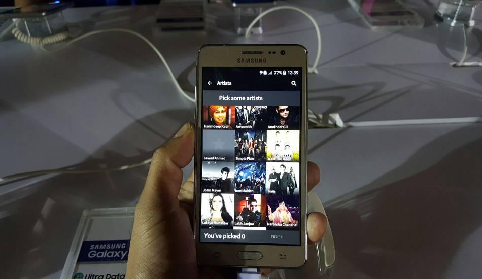 Samsung Galaxy On5 in pics