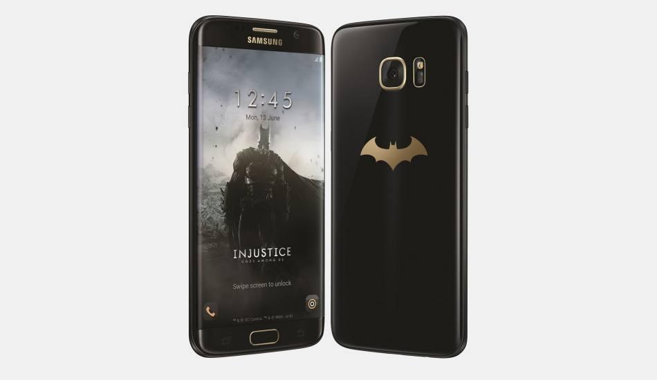 Samsung unveils Galaxy S7 Edge Injustice Edition