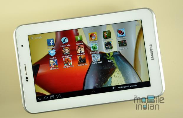 Tablet review: Samsung Galaxy Tab 2 P3100