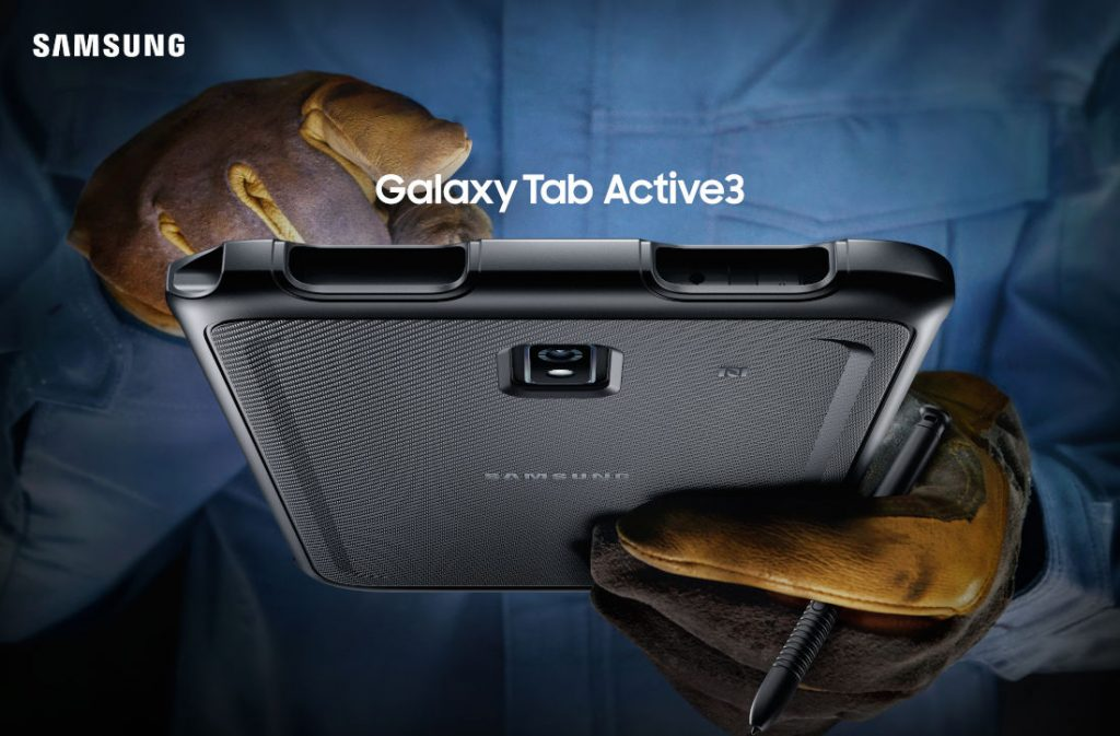 Samsung Galaxy Tab Active 3 rugged tablet announced with 8-inch display