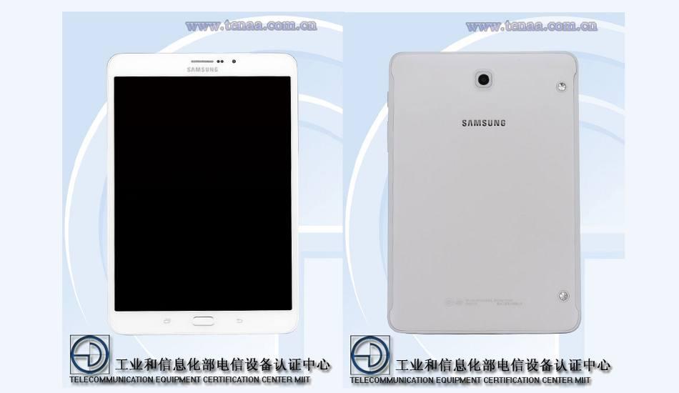 Samsung Galaxy Tab S3 8.0 with 3GB RAM & Snapdragon 652 SoC spotted