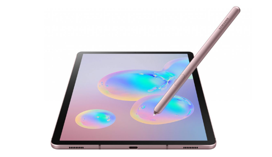 Samsung Galaxy Tab S6 announced with Snapdragon 855, under-display fingerprint scanner