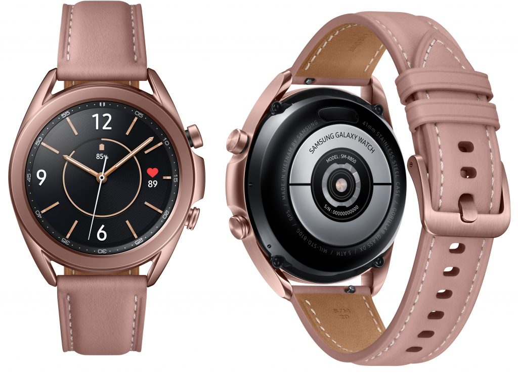Samsung Galaxy Watch 3 announced with Super AMOLED display, Tizen OS 5.5