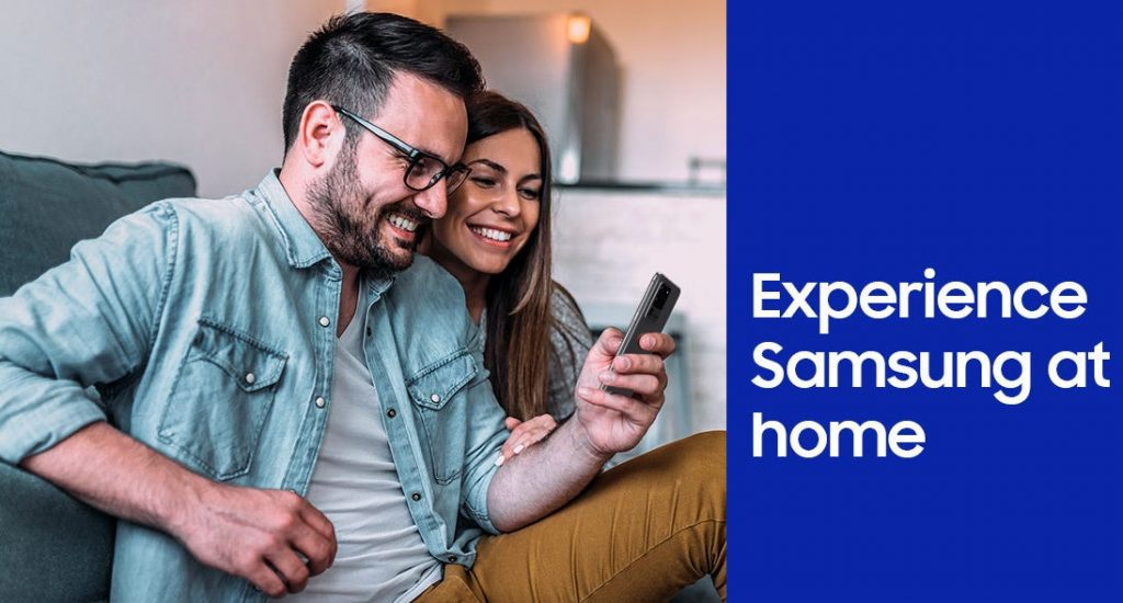 Samsung launches 'Experience Samsung at Home' Service for Galaxy Consumers in India
