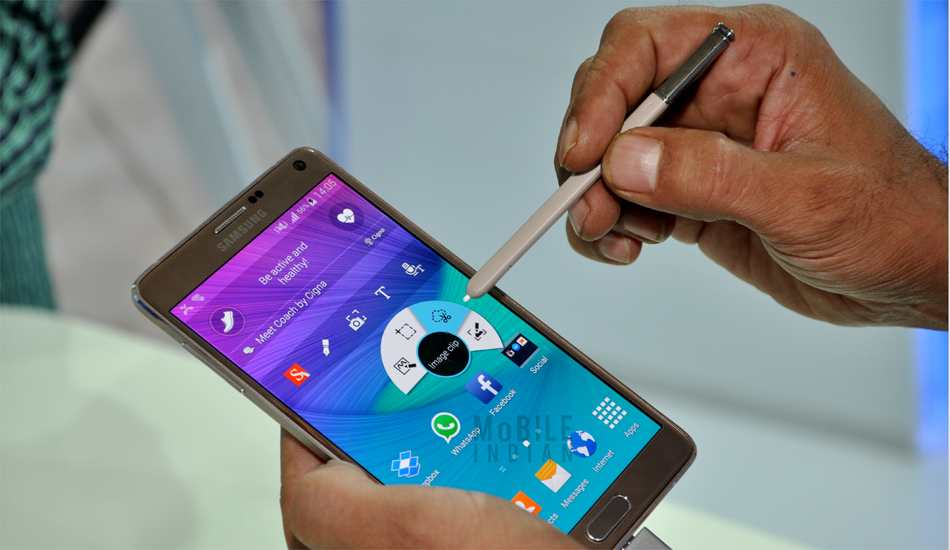 Samsung Galaxy Note 4 First Cut: Price the only deterrent for not recommending this device