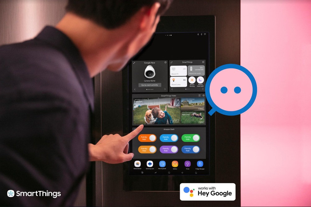 Samsung to help control Google Nest Devices using SmartThings
