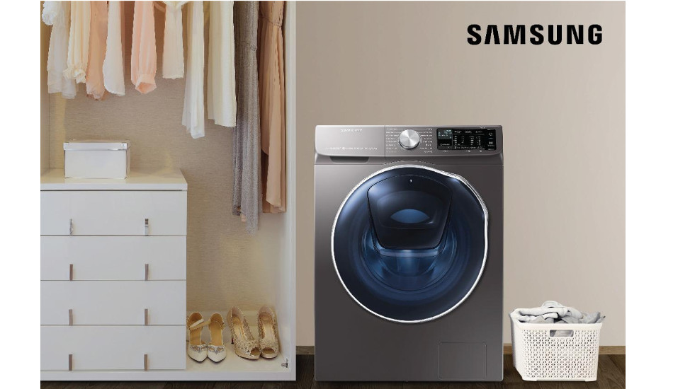 Samsung launches new Range of AI Washing Machines with Q-Rator Technology, 7-kg Washer Dryer Front Load machine