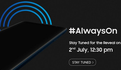 Samsung new Galaxy On smartphone with Infinity Display launching on July 2
