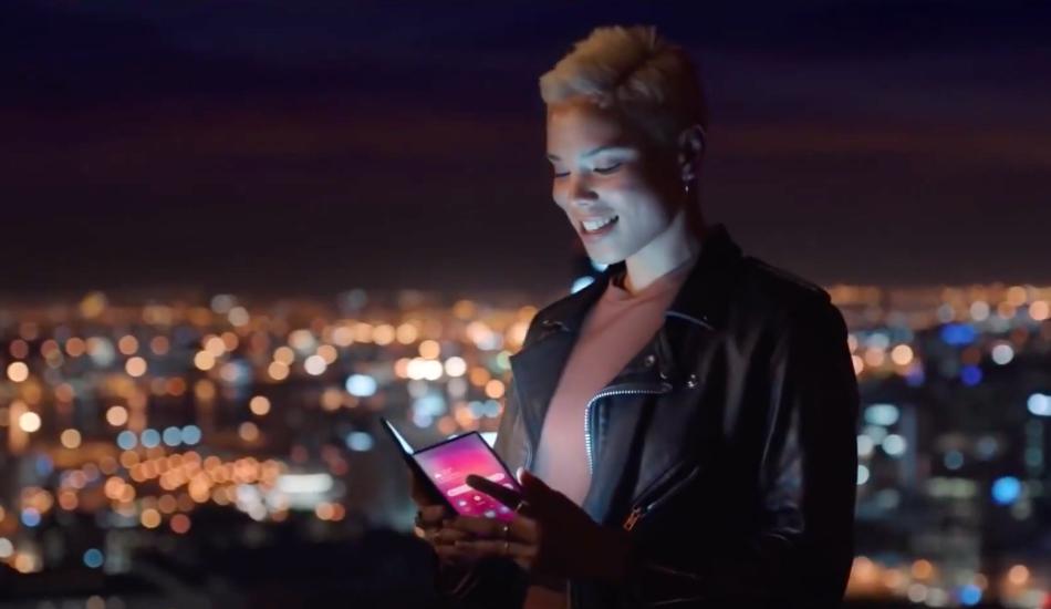 Samsung gives a sneak peek of upcoming Galaxy Foldable phone