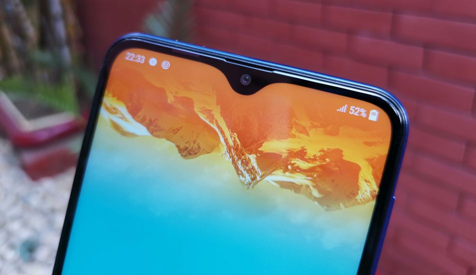 Samsung Galaxy M10 in Pictures