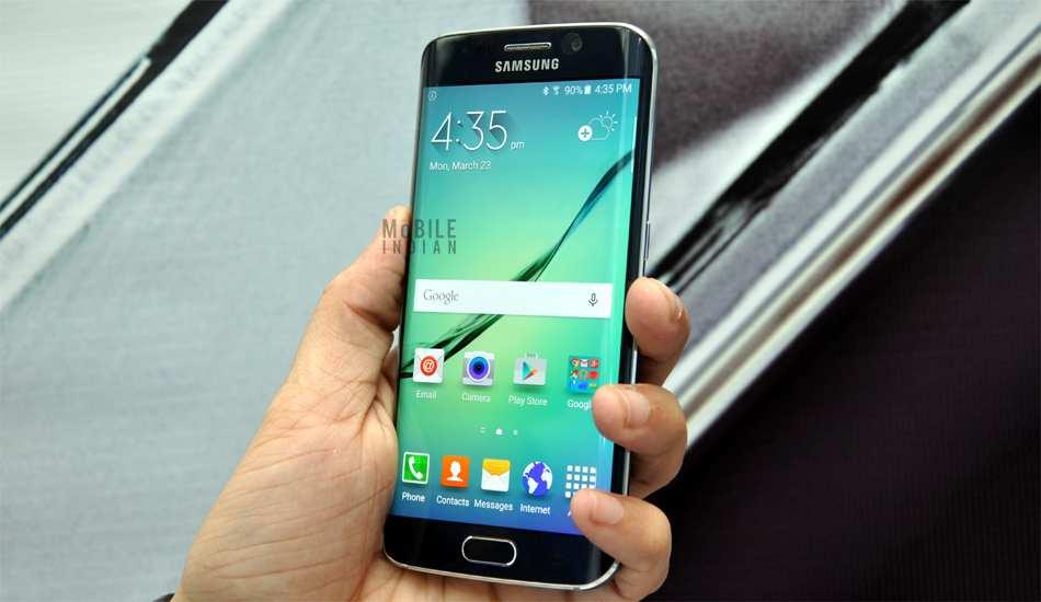 Samsung Galaxy S6 edge Iron Man Limited Edition in pics