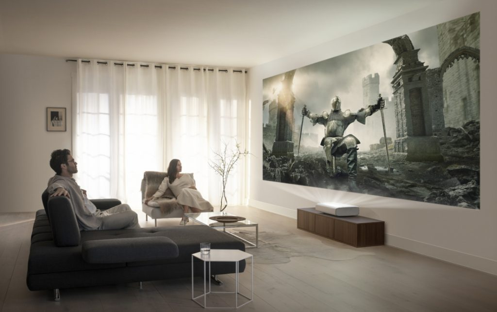 Samsung launches 'The Premiere' 4K Ultra Short Throw Laser Projector