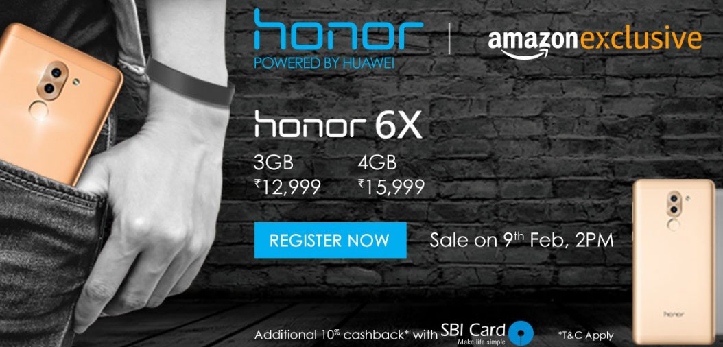 Huawei rolls out Android Nougat beta for Honor 6X, second flash sale to be held on 9th February