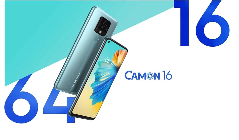 Tecno Camon 16 launching on 10th October in India on Flipkart