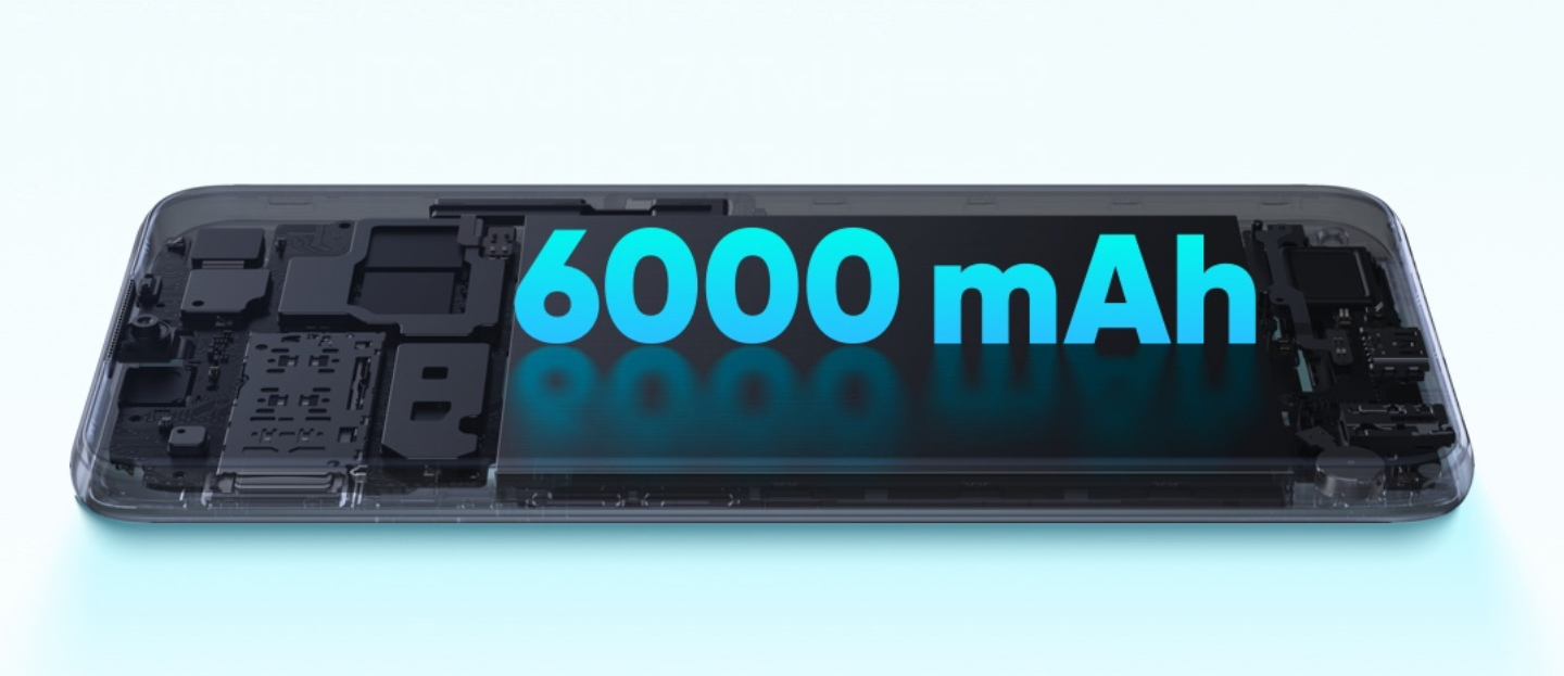 Top 5 latest smartphones with 6000mAh battery