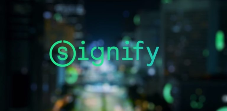 Philips Lighting rebranded as Signify, unveils  LiFi systems