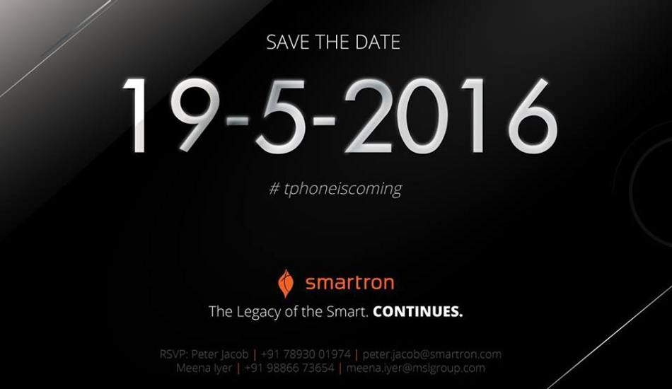 Smartron set to launch t.phone in India today