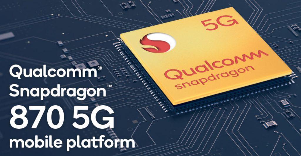 Qualcomm Snapdragon 870 5G Mobile Platform announced