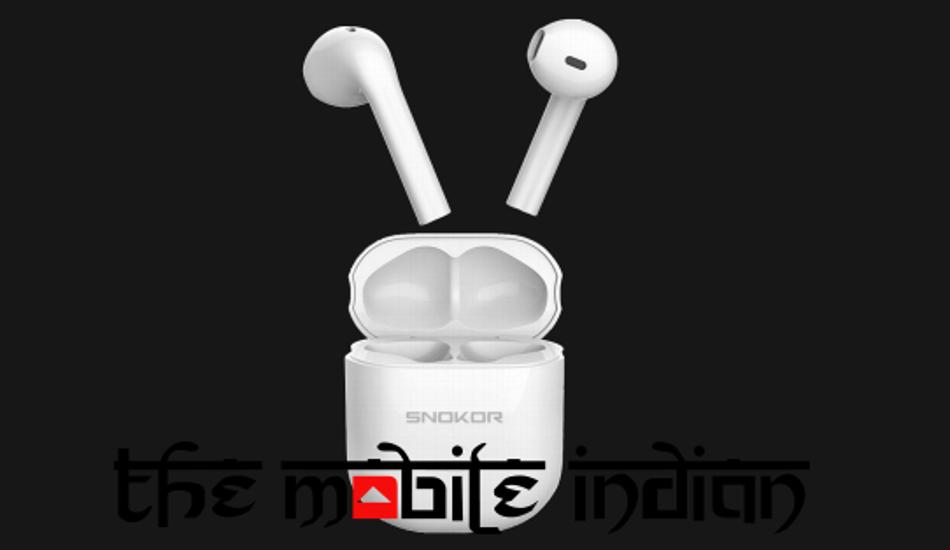 Snokor iRocker Gods TWS earbuds to launch in India on 11 October