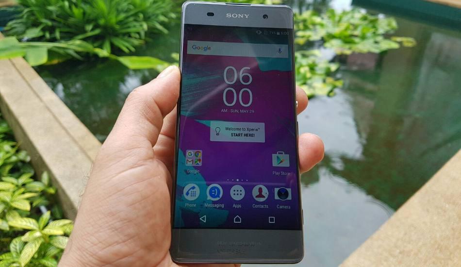 Sony Xperia XA in pics