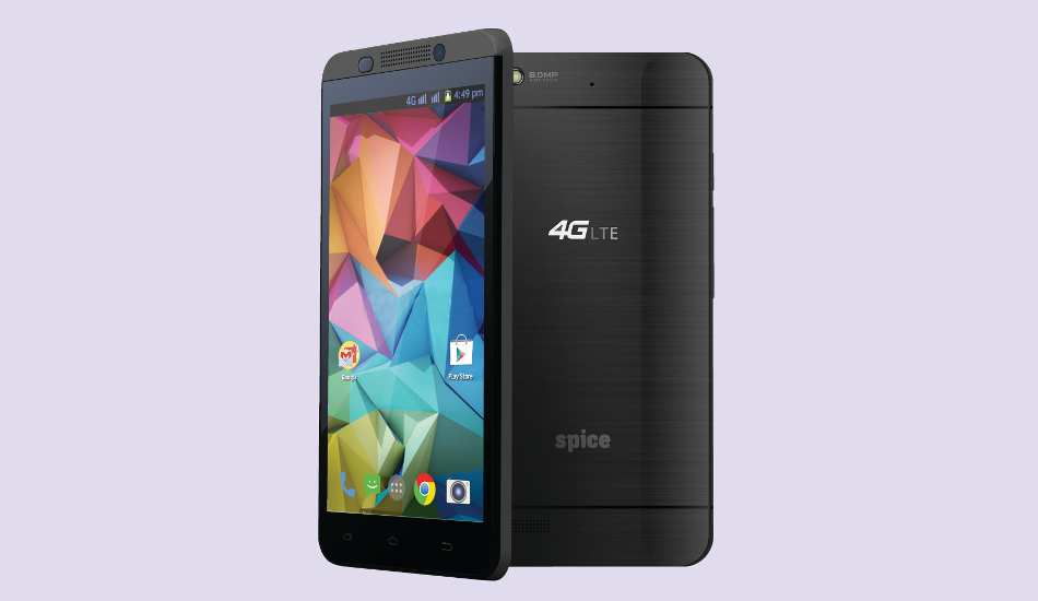Spice launches its first 4G smartphone, Stellar 519, at Rs 8,499