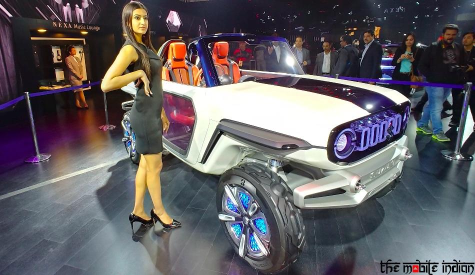 Maruti Suzuki e-Survivor concept at the Auto Expo 2018 in Pictures