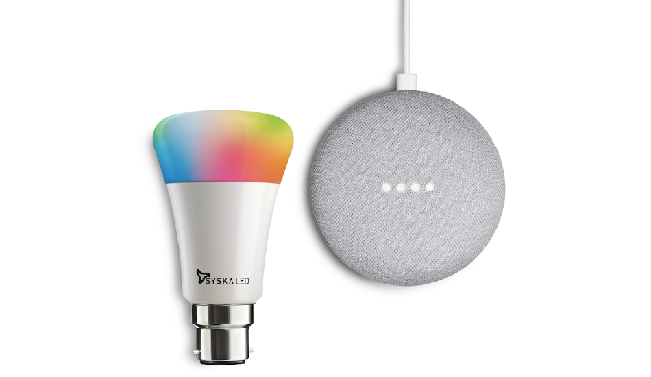 Syska Google Home Mini Combo launched for Rs 5,499