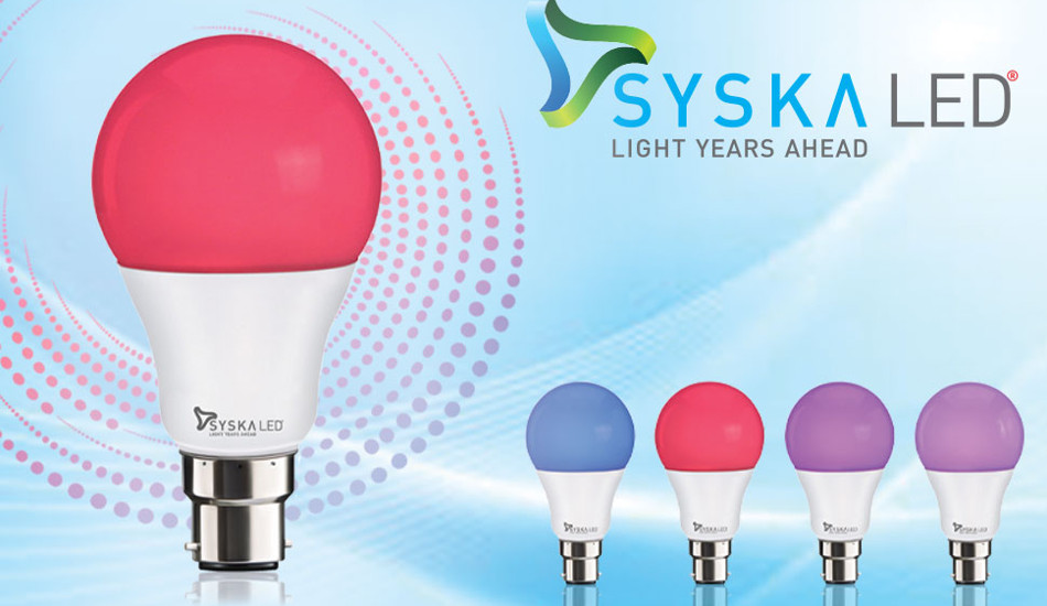 Syska launches 4 in 1 Quartet LED bulb for Rs 350