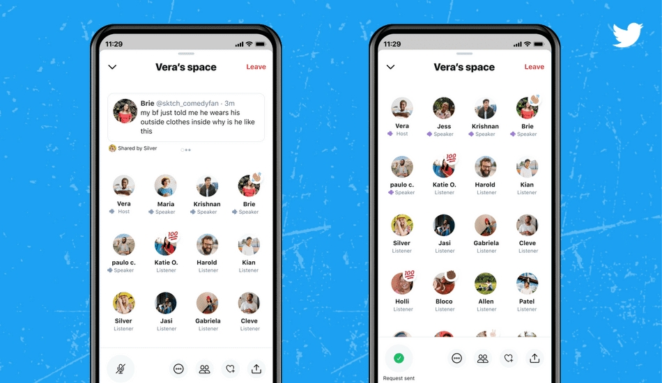 Twitter Spaces announces what it's working on, anyone with 600 or more followers getting the ability to host Spaces