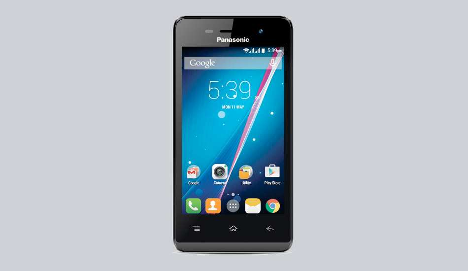 Quad core Panasonic T33 smartphone launched at Rs 4,490