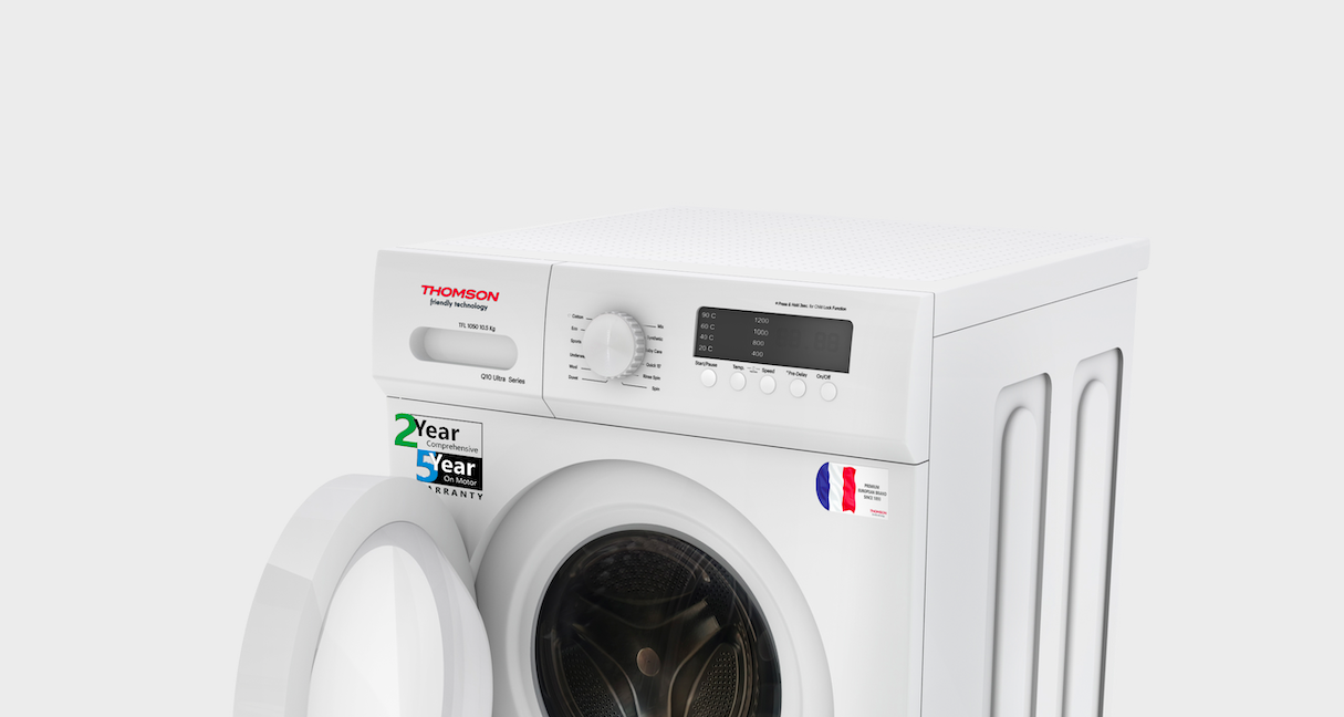 Thomson forays into the Fully automatic washing machine segment with 3 new models