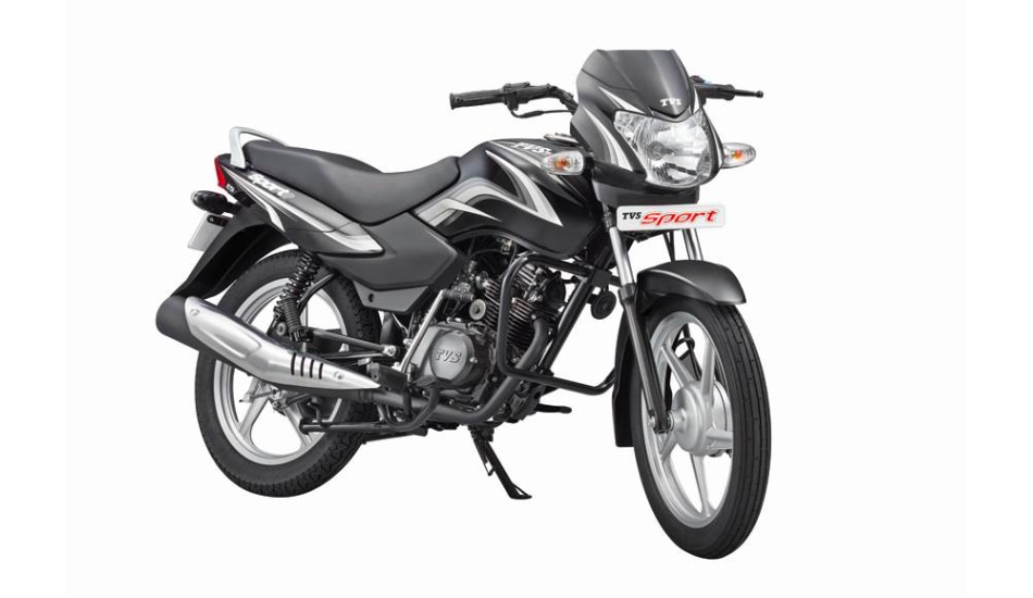 2018 TVS Sport Silver Alloy Edition launched at Rs 38,961