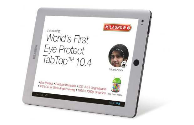 Milagrow launches 9.7 inch tab with sunlight readable screen