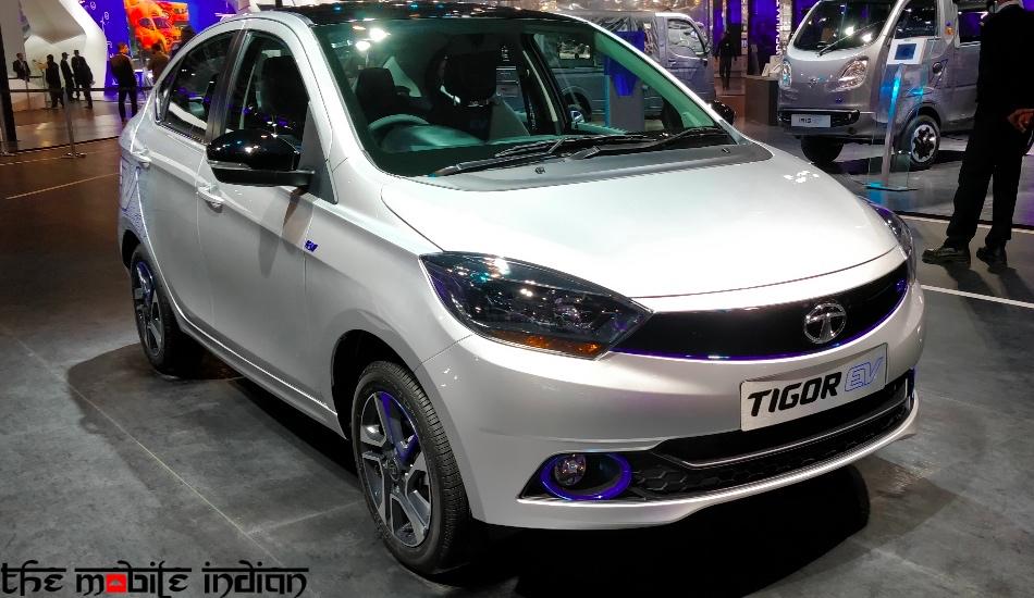 Tata Tigor electric vehicle in pictures
